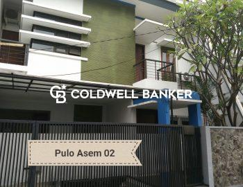 FOR SALE – Rumah Pulo Asem